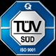 TÜV Süd - ISO 9001 zertifiziert